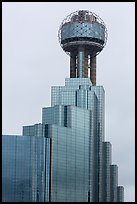 Reunion Tower. Dallas, Texas, USA ( color)