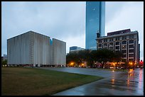 John F Kennedy Memorial Plaza. Dallas, Texas, USA ( color)