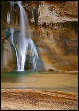 Lower Calf Creek Falls. USA ( color)