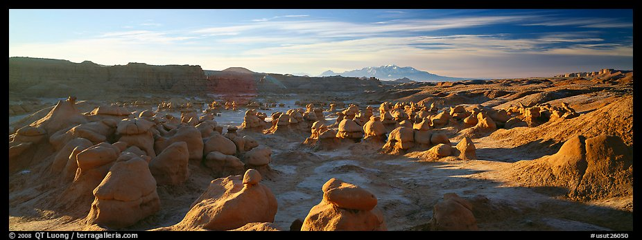 Goblin Valley scenery. Utah, USA (color)