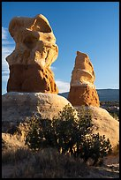 Hoodoos, Devils Garden. Grand Staircase Escalante National Monument, Utah, USA ( color)