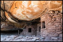 Fallen Roof House. Bears Ears National Monument, Utah, USA ( color)