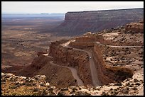 Moki Dugway. Bears Ears National Monument, Utah, USA ( color)