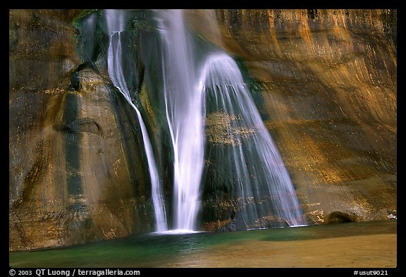 Picture Photo Lower Calf Creek Falls Grand Staircase