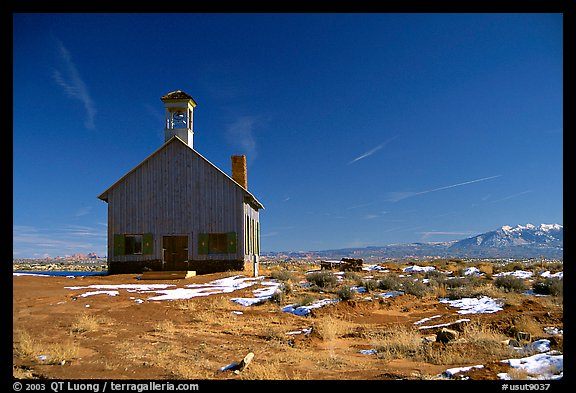 Church near Moab. Utah, USA