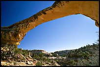 Owachomo Bridge, Natural Bridges National Monument. Utah, USA ( color)