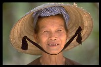 Villager (related to the photographer), Ben Tre