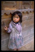Girl of minority village, near Dalat
