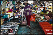 Fish market, Duong Dong. Phu Quoc Island, Vietnam (color)