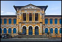 Courthouse in French colonial architecture. Ho Chi Minh City, Vietnam ( color)