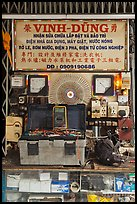 Electric repair store. Cholon, Ho Chi Minh City, Vietnam ( color)