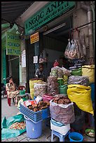 Traditional herb shop. Cholon, Ho Chi Minh City, Vietnam ( color)