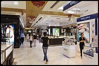 Designer brands in shopping center. Ho Chi Minh City, Vietnam ( color)