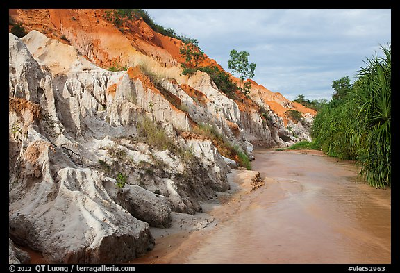 Fairy Stream Canyon. Mui Ne, Vietnam (color)