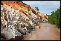 Fairy Stream Canyon. Mui Ne, Vietnam ( color)