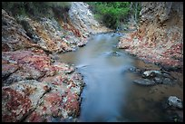 Fairy Stream flowing in gorge. Mui Ne, Vietnam ( color)
