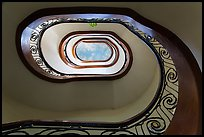 Stairway, Majestic Hotel. Ho Chi Minh City, Vietnam ( color)