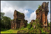 Pictures of Champa Ruins