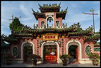 Quan Cong temple. Hoi An, Vietnam ( color)