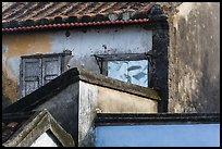 Building corners detail. Hoi An, Vietnam ( color)
