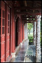 Walls and columns, imperial citadel. Hue, Vietnam ( color)