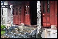 Backside of Palace of Supreme Peace, citadel. Hue, Vietnam ( color)