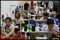 Sewing factory. Vietnam ( color)