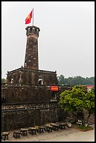 Flag Tower, Hanoi Citadel. Hanoi, Vietnam (color)