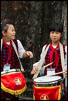 Children band musicians. Hanoi, Vietnam ( color)