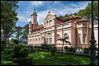 Joan of Arch church and park, district 5. Ho Chi Minh City, Vietnam ( color)