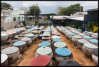 Fish sauce factory. Mui Ne, Vietnam ( color)