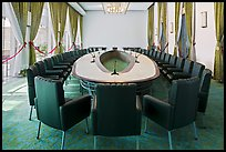 Cabinet meeting room, Independence Palace. Ho Chi Minh City, Vietnam ( color)