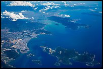 Aerial view of Nha Trang Bay. Vietnam ( color)