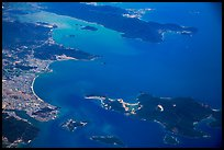 Aerial view of Nha Trang and Nha Trang Bay. Vietnam ( color)