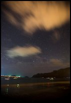 An Hai Beach at night, Con Son. Con Dao Islands, Vietnam ( color)