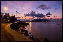 Con Son seafront at dawn. Con Dao Islands, Vietnam ( color)