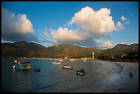 Con Son harbor and hills. Con Dao Islands, Vietnam ( color)