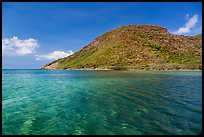 Clear waters over reef, Bay Canh Island, Con Dao National Park. Con Dao Islands, Vietnam ( color)