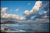 Harbor, afternoon, Con Son. Con Dao Islands, Vietnam ( color)
