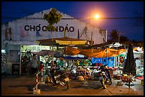 Market at night, Con Son. Con Dao Islands, Vietnam ( color)