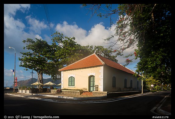 Old French Customs House, Con Son. Con Dao Islands, Vietnam (color)