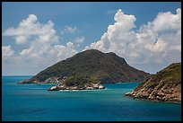 Trac Lon Islets. Con Dao Islands, Vietnam ( color)