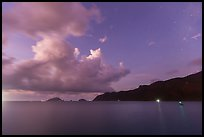 Con Son Bay at dawn. Con Dao Islands, Vietnam ( color)