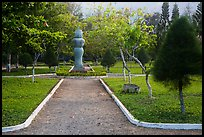 Sculpture garden, Con Son. Con Dao Islands, Vietnam ( color)