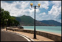 Seafront promenade, Con Son. Con Dao Islands, Vietnam ( color)