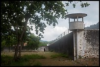 Prison wall, Con Son. Con Dao Islands, Vietnam ( color)