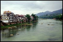 Bang Gian River in Cao Bang. Northeast Vietnam (color)