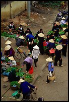 Ky Lua Market,  Cao Bang. Northeast Vietnam ( color)