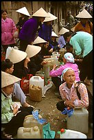 Alcohol stand, Cho Ra Market. Northeast Vietnam ( color)