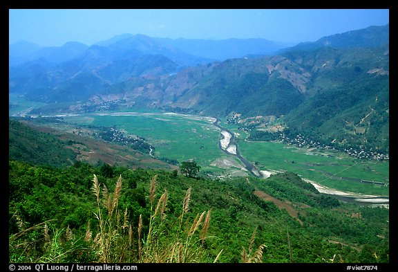 Valley of Lai Chau. Northwest Vietnam (color)